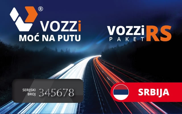 Paket vozii RS